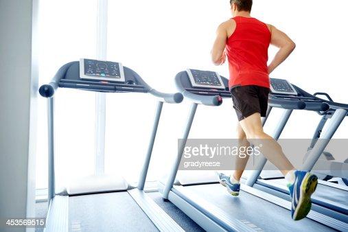 Jogging his way to good health