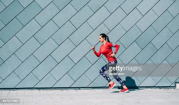 Jogging in der Stadt