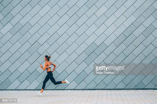 Jogging nella città