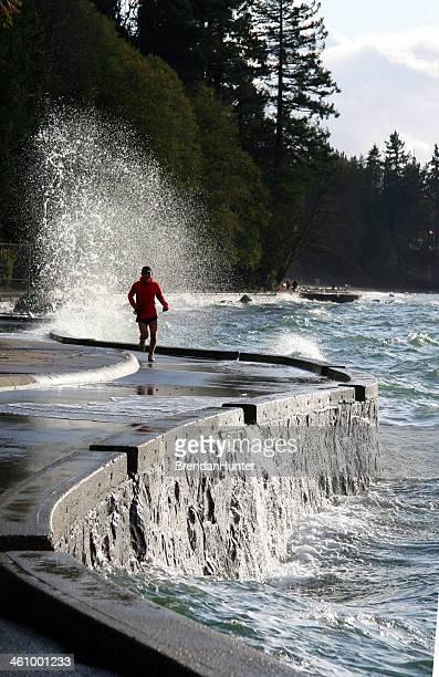 Jogging de l'eau