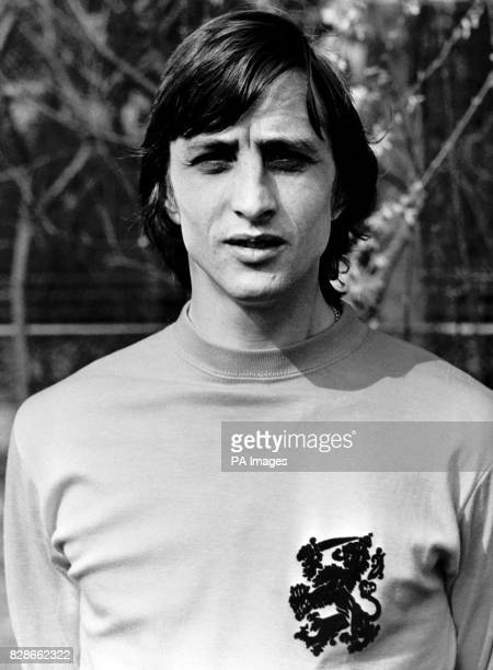 Johan Cruyff who became the world's fist million pound footballer when he was transferred for that amount from Dutch champions Ajax to the Spanish...