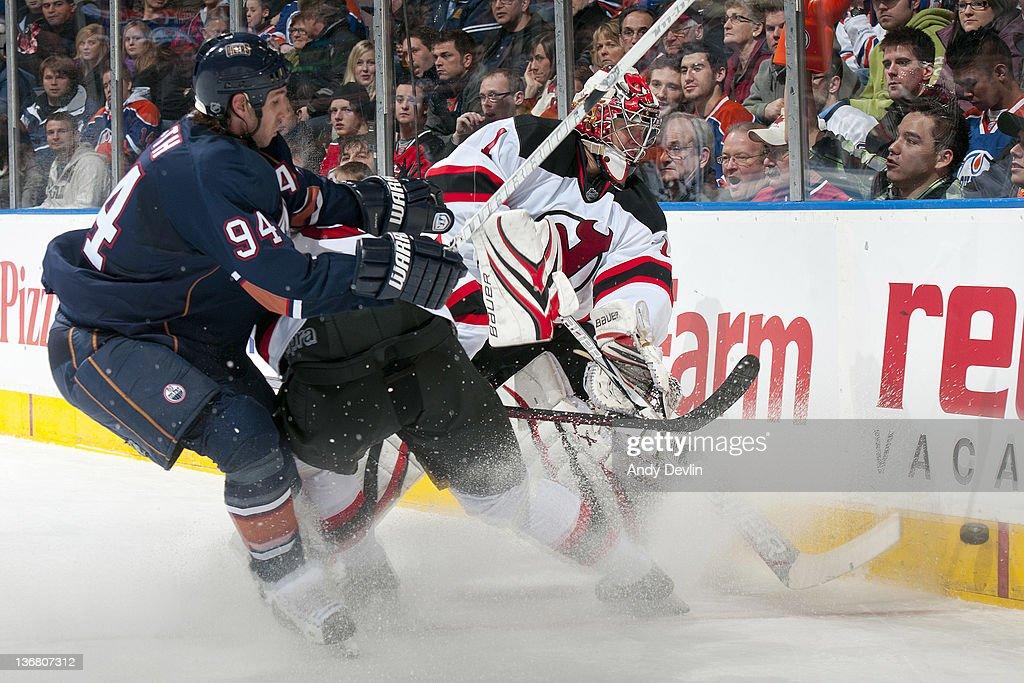 New Jersey Devils v Edmonton Oilers