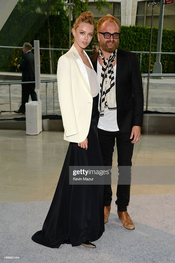 Johan Lindeberg (R) attends 2013 CFDA Fashion Awards at Alice Tully Hall on June 3, 2013 in New York City.