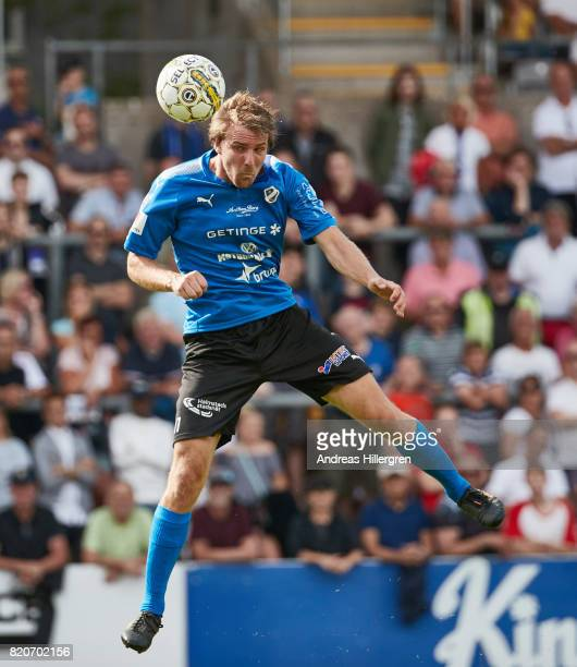 Johan Oremo during the Allsvenskan match between Halmstad BK and GIF Sundsvall at Orjans Vall on July 22 2017 in Halmstad Sweden