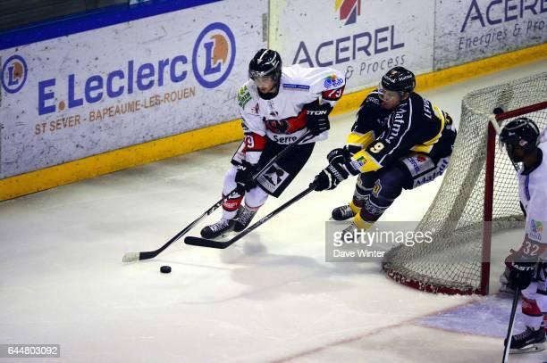 Johan SAINT ANDRE / Pierre Antoine DEVIN Hockey sur glace Rouen / Briancon 1/2Finale Coupe de France Photo Dave Winter / Icon Sport