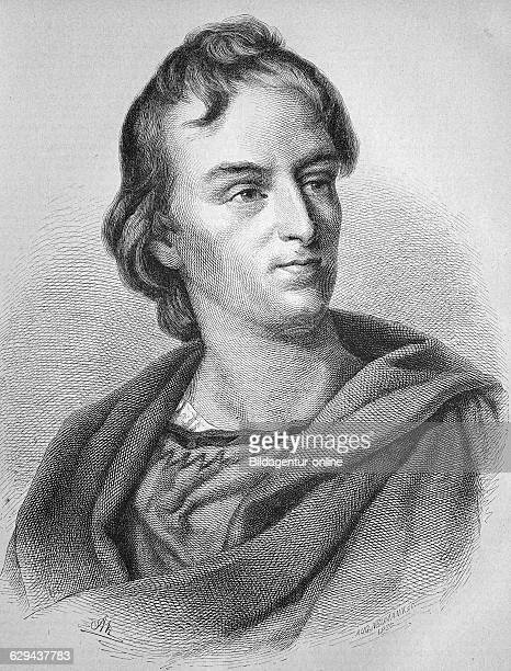 Johann christoph friedrich von schiller 17591805 german poet philosopher and historian historic wood engraving ca 1880