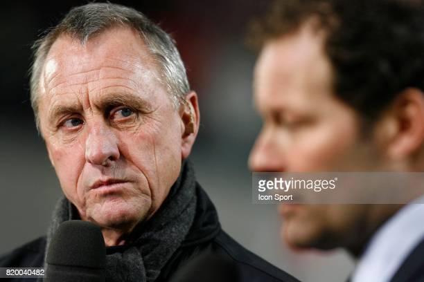 Johann CRUYFF et Danny BLIND Ajax Amsterdam / Inter Milan 1/8eme Finale Champions League 2005/2006