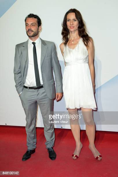Johann Morio and Sabine Crossen attends Closing Ceremony during 19th Festival of TV Fiction at La Rochelle on September 16 2017 in La Rochelle France