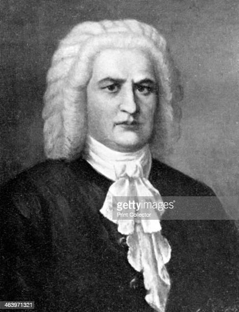 Johann Sebastian Bach German composer 1909