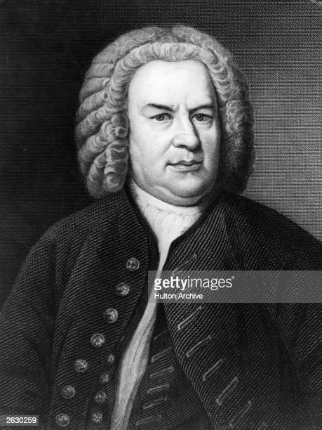 Johann Sebastian Bach German composer and organist 1746