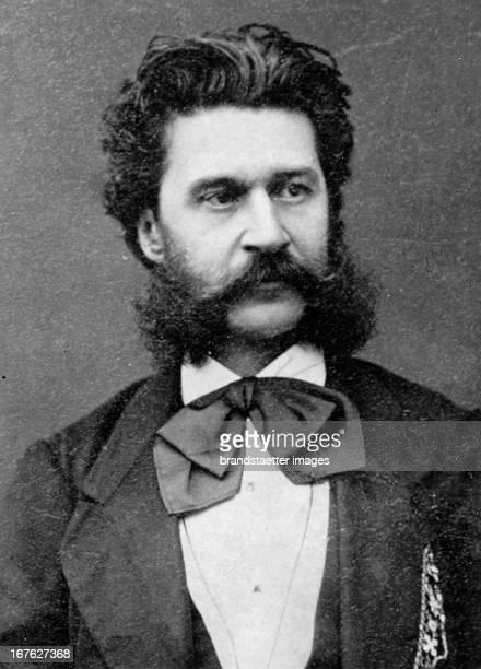 Johann Strauß Austria Photograph About 1875 Johann Strauß Österreich Photographie Um 1875