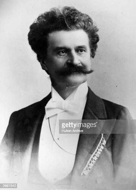 Johann Strauss II the Austrian composer conductor and violinist Original Publication People Disc HJ0232