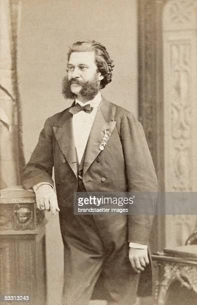 Johann Strauss junior Paris Photography Around 1875 [Johann Strauss Sohn Paris Photographie Um 1875]