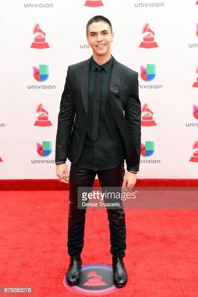 Johann Vera attends the 18th Annual Latin Grammy Awards at MGM Grand Garden Arena on November 16 2017 in Las Vegas Nevada