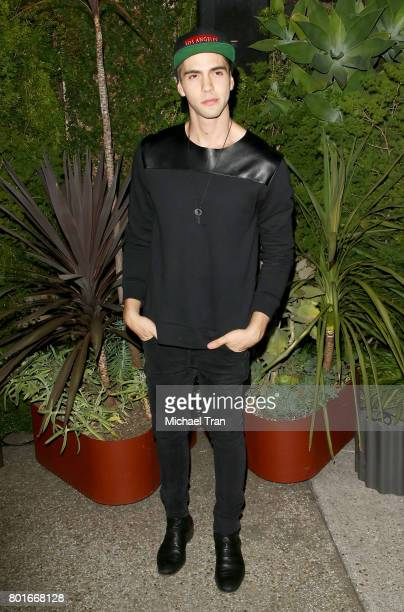 Johann Vera attends the official Raze launch party held at Smogshoppe on June 26 2017 in Los Angeles California