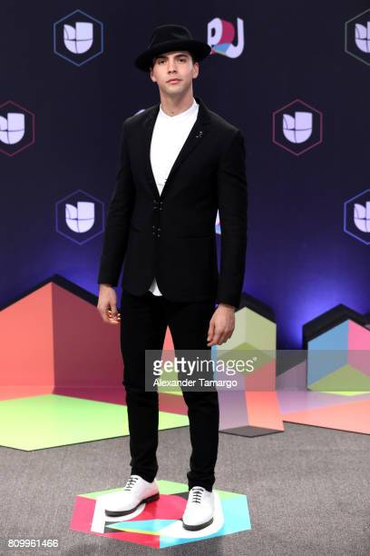Johann Vera attends the Univision's 'Premios Juventud' 2017 Celebrates The Hottest Musical Artists And Young Latinos ChangeMakers at Watsco Center on...