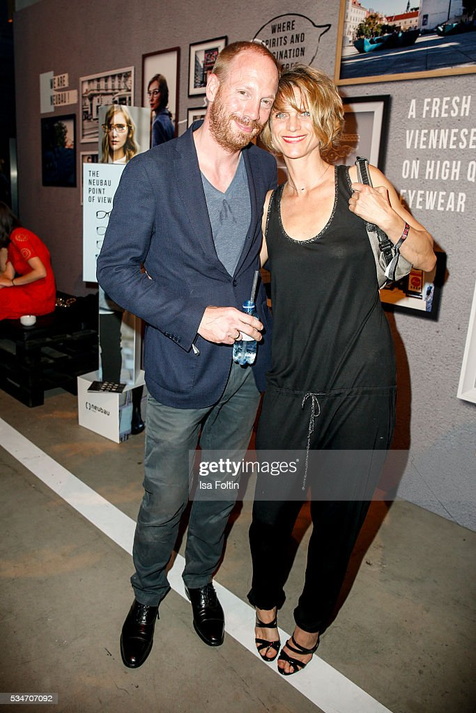 Johann von Buelow and Katrin von Buelow attends the New Faces Award Film 2016 After Show Party at ewerk on May 26, 2016 in Berlin, Germany.