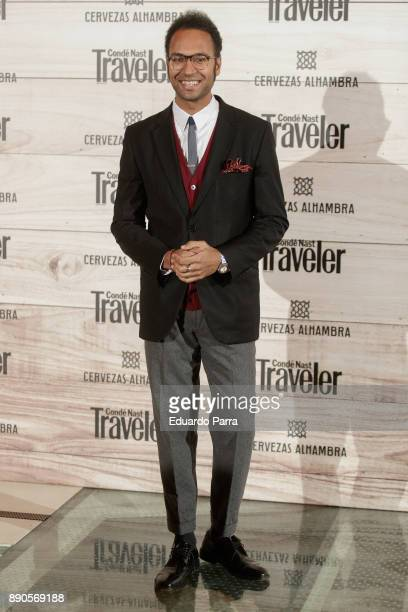 Johann Wald attends the 'Conde Nast Traveler Gastronomic and Wine Guide' photocall at Florida Retiro on December 11 2017 in Madrid Spain