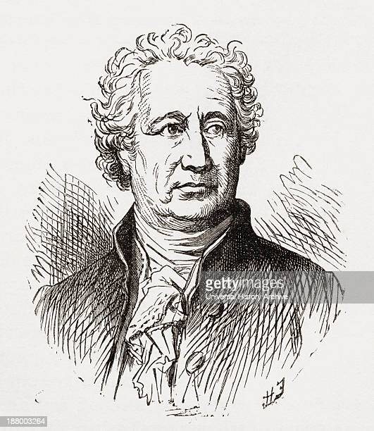 Johann Wolfgang Von Goethe 1749 To 1832 German Writer And Polymath From The World's Inhabitants By GT Bettany Published 1888