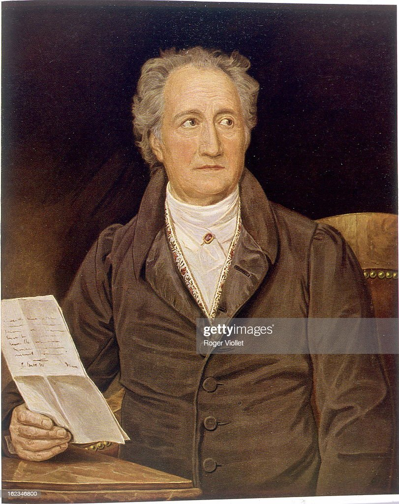 <a gi-track='captionPersonalityLinkClicked' href=/galleries/search?phrase=Johann+Wolfgang+von+Goethe&family=editorial&specificpeople=98976 ng-click='$event.stopPropagation()'>Johann Wolfgang von Goethe</a> (1749-1832), German writer, circa 1800. By Karl Joseph von Stieler (1781-1858).