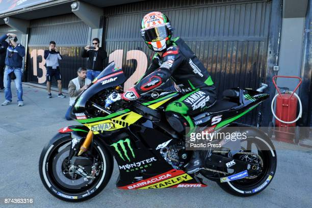 Johann Zarco during Motogp test day at Valencia circuit