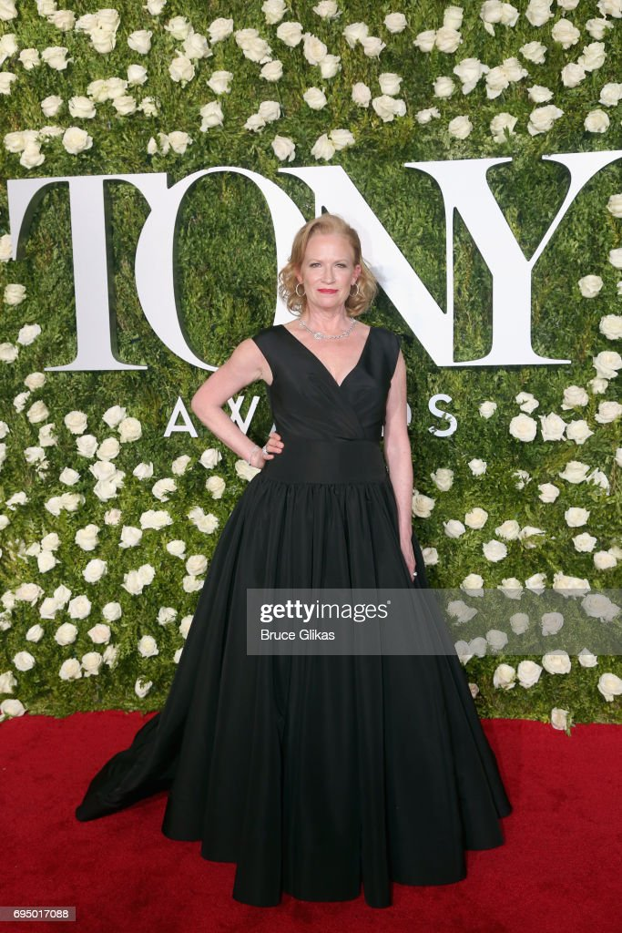 Johanna Day attends the 71st Annual Tony Awards at Radio City Music Hall on June 11, 2017 in New York City.