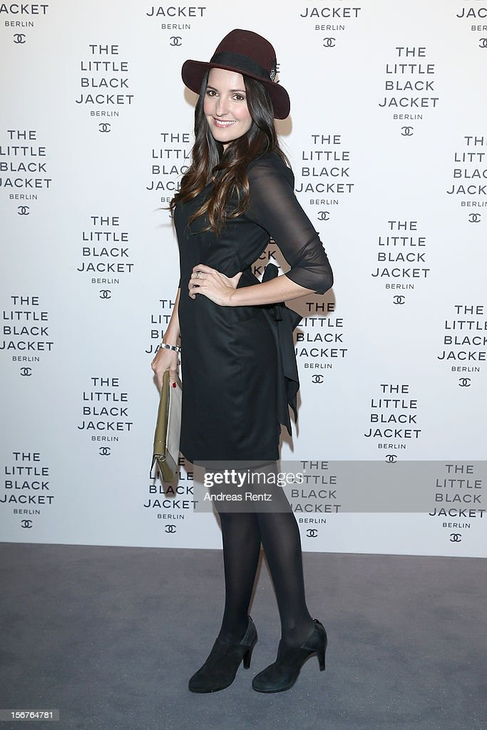 Johanna Klum attends CHANEL 'The Little Black Jacket' - Exhibition Opening by Karl Lagerfeld and Carine Roitfeld on November 20, 2012 in Berlin, Germany.