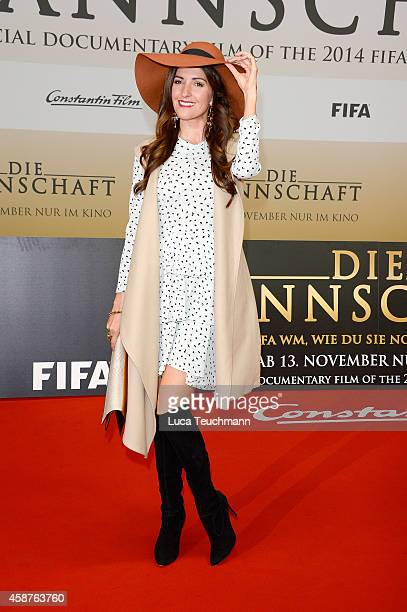 Johanna Klum attends 'Die Mannschaft' Premiere in Berlin on November 10 2014 in Berlin Germany