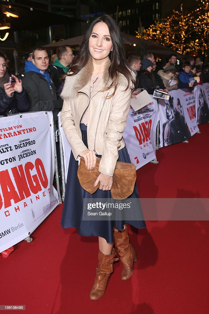 Johanna Klum attends 'Django Unchained' Berlin Premiere at Cinestar Potsdamer Platz on January 8, 2013 in Berlin, Germany.
