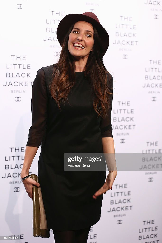Johanna Klum attends the CHANEL 'The Little Black Jacket' - Exhibition Opening by Karl Lagerfeld and Carine Roitfeld on November 20, 2012 in Berlin, Germany.
