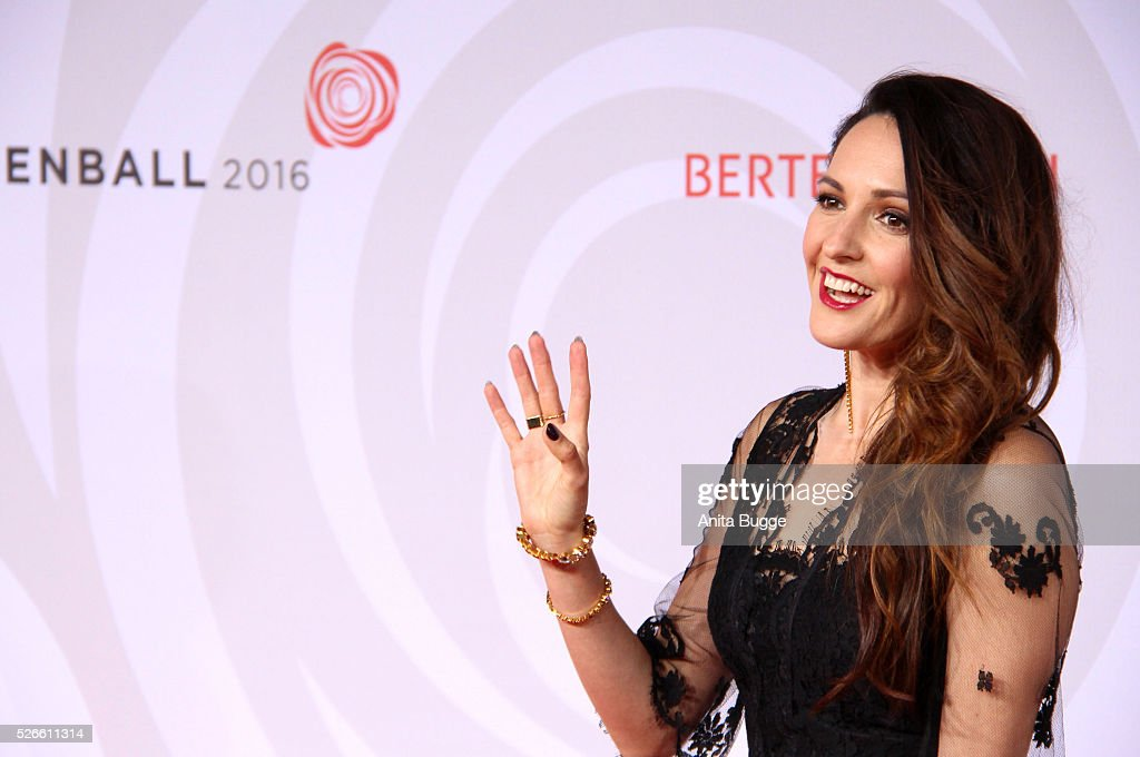 <a gi-track='captionPersonalityLinkClicked' href=/galleries/search?phrase=Johanna+Klum&family=editorial&specificpeople=636185 ng-click='$event.stopPropagation()'>Johanna Klum</a> attends the charity event 'Rosenball' at Hotel Intercontinental on April 30, 2016 in Berlin, Germany.