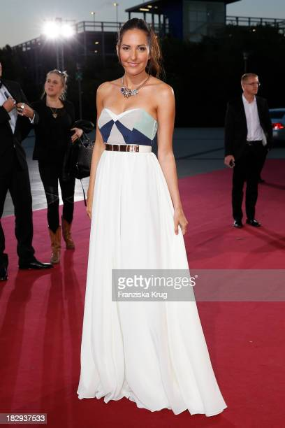 Johanna Klum attends the Deutscher Fernsehpreis 2013 Red Carpet Arrivals at Coloneum on October 02 2013 in Cologne Germany