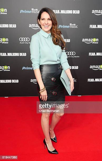 Johanna Klum attends the 'Fear the Walking Dead' Season 2 German Premiere at Haus Ungarn on April 6 2016 in Berlin Germany