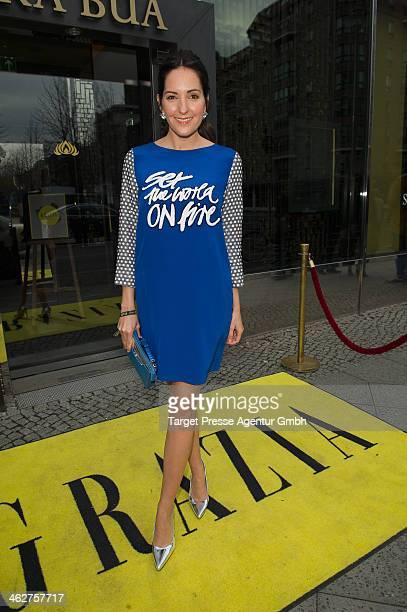 Johanna Klum attends the Grazia Pop Up during MercedesBenz Fashion Week Autumn/Winter 2014/15 at Sra Bua Restaurant on January 15 2014 in Berlin...