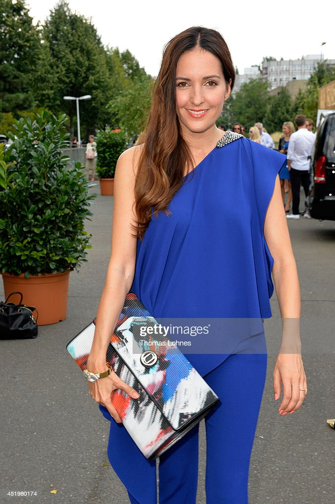 Johanna Klum attends the Laurel show during the Mercedes-Benz Fashion Week Spring/Summer 2015 at Erika Hess Eisstadion on July 10, 2014 in Berlin, Germany.