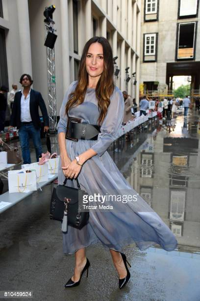 Johanna Klum attends the Marina Hoermanseder show during the Berliner Mode Salon Spring/Summer 2018 at Kronprinzenpalais on July 7 2017 in Berlin...