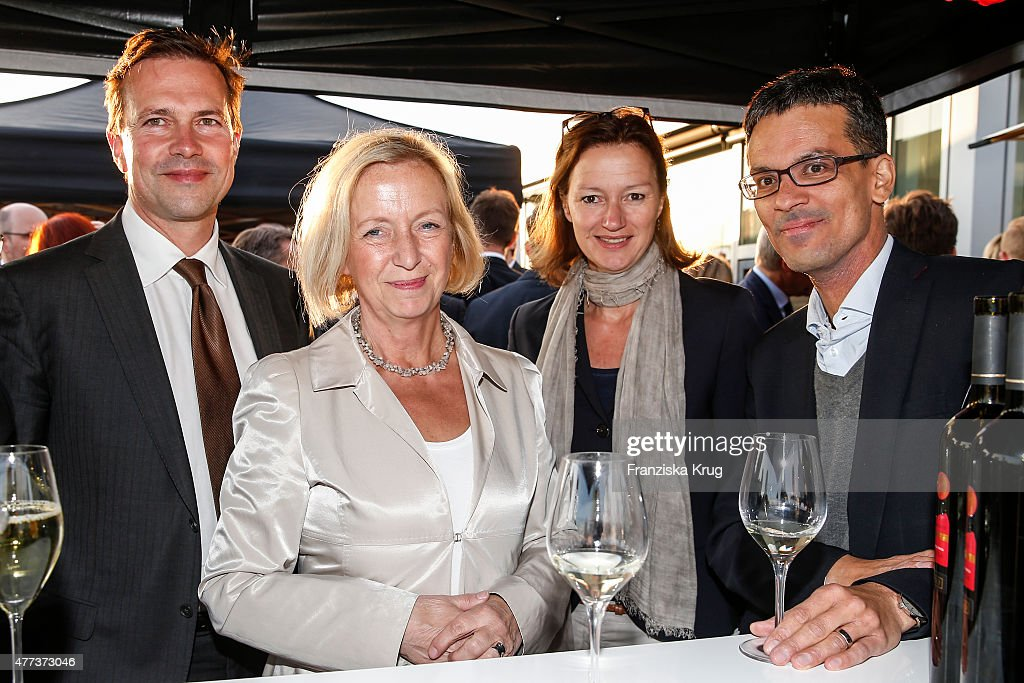 <a gi-track='captionPersonalityLinkClicked' href=/galleries/search?phrase=Johanna+Wanka&family=editorial&specificpeople=5626570 ng-click='$event.stopPropagation()'>Johanna Wanka</a>, Bettina Schausten and guest attend the STERN And CAPITAL Summer Party on June 16, 2015 in Berlin, Germany.
