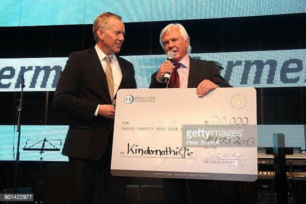 Johannes BKerner Dieter Kürten AbschlussGala nach 20 'Eagles Präsidenten Golf Cup'Jubiläumsturnier zu Gunsten Bedürftiger Bad Griesbach Bayern...