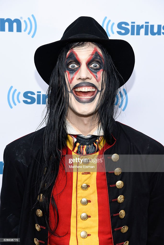Johannes Eckerstrom of the band Avatar visits at SiriusXM Studio on May 5, 2016 in New York City.