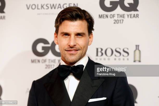 Johannes Huebl arrives for the GQ Men of the year Award 2017 at Komische Oper on November 9 2017 in Berlin Germany