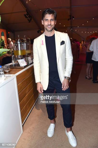 Johannes Huebl attends Sixth Annual Hamptons Paddle and Party for Pink Benefitting the Breast Cancer Research Foundation at Fairview on Mecox Bay on...