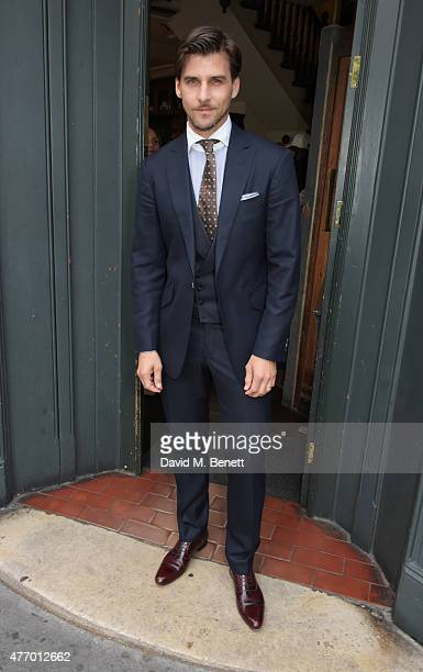 Johannes Huebl attends the COACH Men's Spring 2016 Party hosted by Stuart Vevers Tinie Tempah and Dree Hemingway at The Lady Ottoline on June 13 2015...