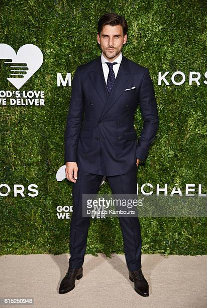 Johannes Huebl attends the God's Love We Deliver Golden Heart Awards on October 17 2016 in New York City