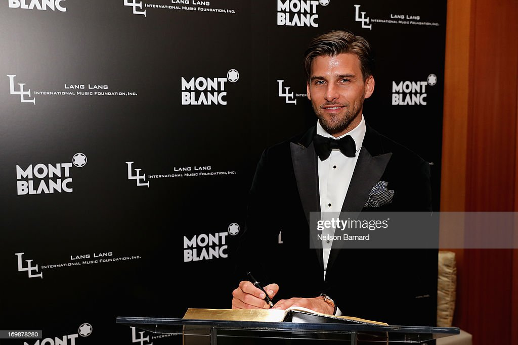 <a gi-track='captionPersonalityLinkClicked' href=/galleries/search?phrase=Johannes+Huebl&family=editorial&specificpeople=5696811 ng-click='$event.stopPropagation()'>Johannes Huebl</a> attends The Lang Lang International Music Foundation Inaugural Gala supported by Montblanc at 10 on The Park on June 3, 2013 in New York City.