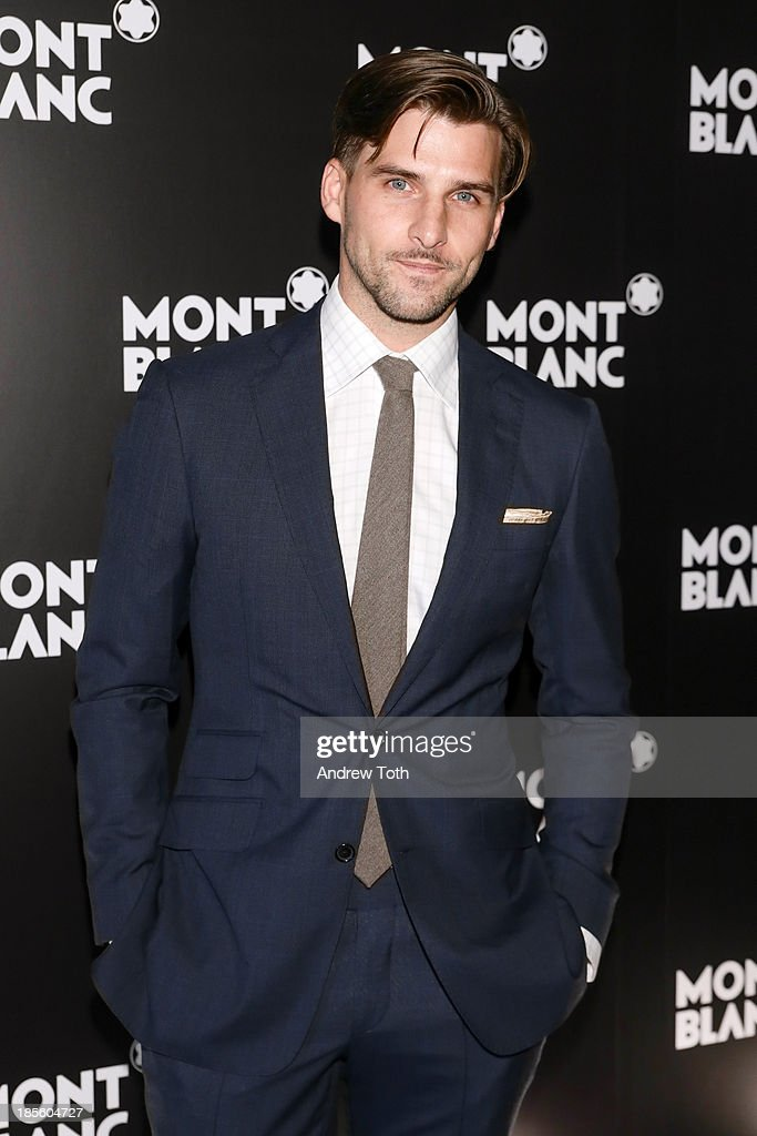 <a gi-track='captionPersonalityLinkClicked' href=/galleries/search?phrase=Johannes+Huebl&family=editorial&specificpeople=5696811 ng-click='$event.stopPropagation()'>Johannes Huebl</a> attends the Montblanc Madison Avenue store opening on October 22, 2013 in New York City.