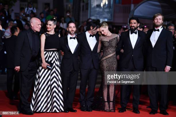 Johannes Krisch Samia Muriel Chancrin Denis Moschitto director Fatih Akin Diane Kruger Numan Acar and Ulrich Brandhoff attend the 'In The Fade '...