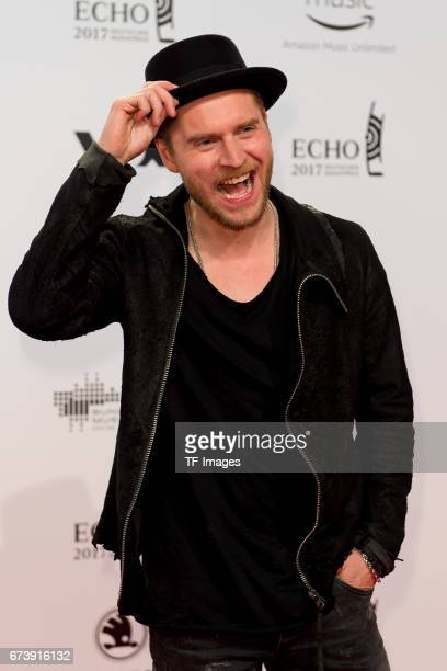 Johannes Oerding on the red carpet during the ECHO German Music Award in Berlin Germany on April 06 2017