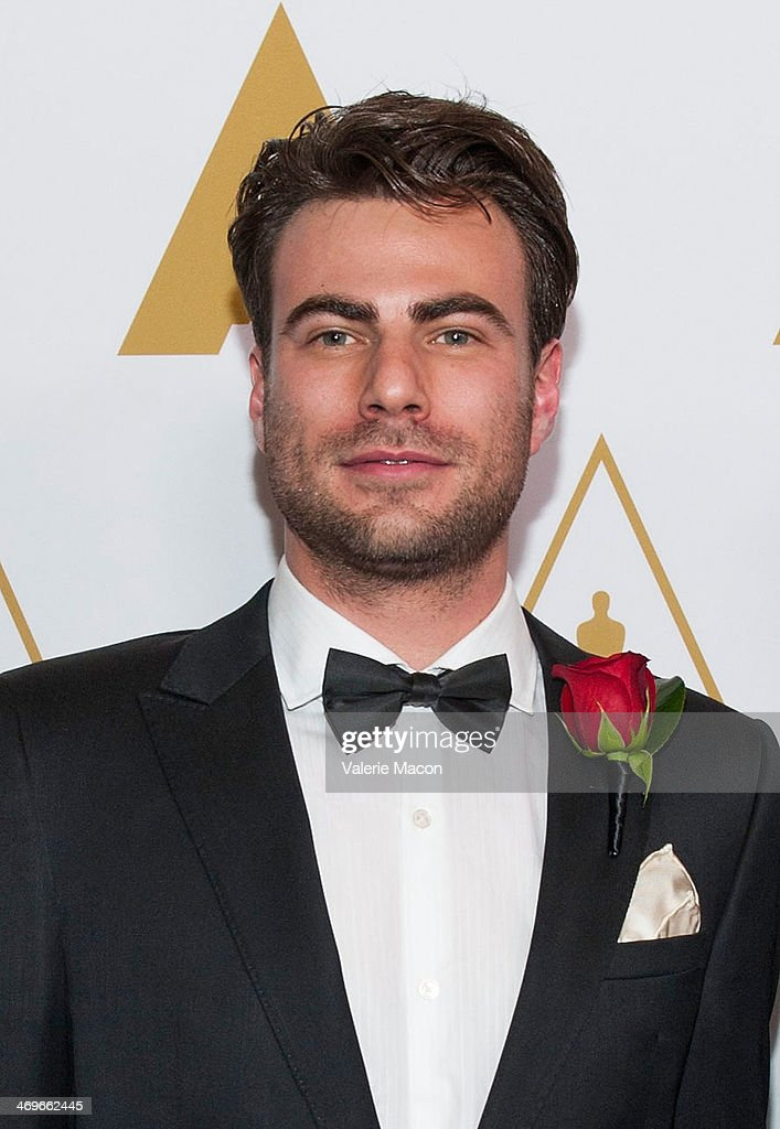 Johannes Saam arrives at the Academy Of Motion Picture Arts And Sciences' Scientific And Technical Awards Ceremony at Beverly Hills Hotel on February 15, 2014 in Beverly Hills, California.