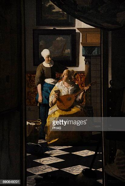 Johannes Vermeer Dutch painter The Love Letter c 16691670 Rijksmuseum Amsterdam Netherlands