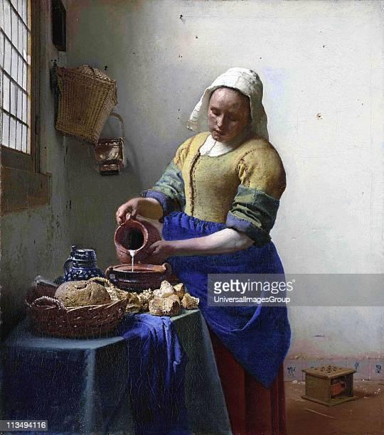 Johannes Vermeer Dutch painter The Milkmaid